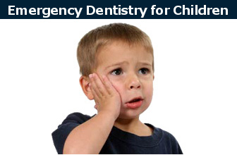 Emergency dentistry for children