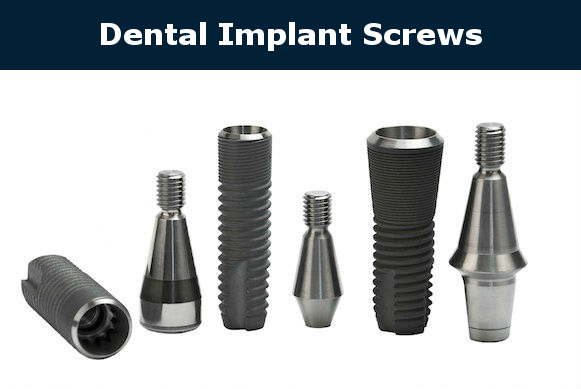 dental implant custom screws