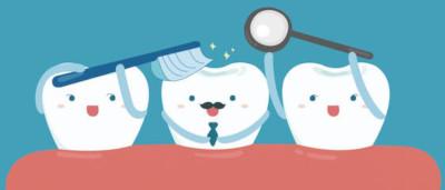 Good hygiene for healthy teeth
